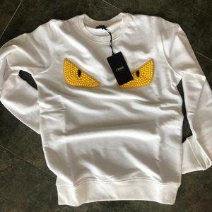 Fendi Roma Men's Cotton Sweaters